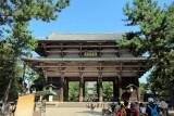 Very old gate of Tōdai-ji