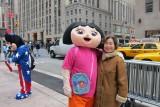 Dora & m in NYC