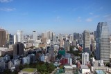 East view from Tokyo tower