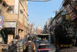 in the old Delhi town