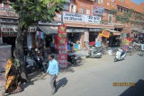 Shopping street in Jaipur