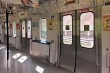 A commuter train in Tokyo