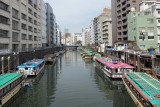 Some pleasure boats in Tokyo