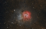 M20 - The Triffid Nebula