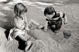 Jeu de sable
