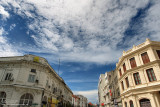 Blue sky over Penang