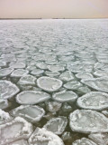 Lago Michigan congelado