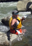 Anna Vargas on Cache Creek