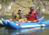 Jeff Colteaux and a Buddy on Cache Creek