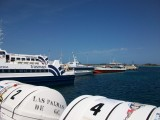 Ferries at La Savina