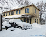 Ricci House in Snow