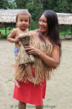 Yagua Mother and Child