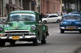 green chevy, 1952?