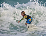 young and surfing
