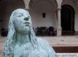 lady statue Tavira Portugal