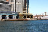 Ferry Terminal and Brooklyn Bridge