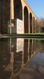 Farningham  Viaduct  reflected.