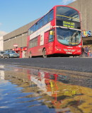 Route  221  London  Red  Bus