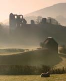 Clun  Castle  ruins