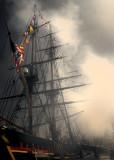 HMS Bounty Battle Smoke 0104