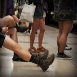 No Pants 2013, Barcelona.