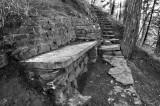 Conrad Cemetary Fairy Steps