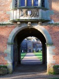Through the gatehouse, fleetingly...