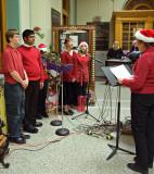 06-12 Volante Academy Choir at Post Office 01.jpg