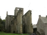 heading south out of Normandy, we stop at the ruins of Hambye abbey