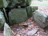 curious shapes carved into the stones