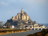 ...and at last, a good view of Mont St. Michel