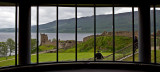 First view of the Urquhart Castle
