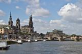 Hofkirche, Semperoper und Augustus-Brücke