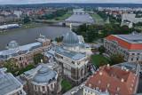 Blick von der Kuppel der Frauenkirche