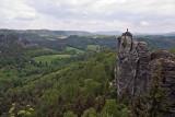 Blick von der Felsenburg Neurathen