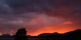 Sundown in Ballachulish