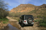 The Jeep on FR 4 Tonto National Forest