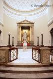 92- Vor Frue Kirke - Font and altar.jpg