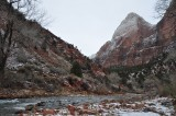 Zion National Park in winter - December, 2012