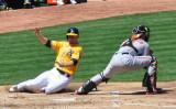 Oakland A's vs. Baltimore Orioles - April, 2013
