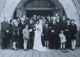 Huwelijksgroepsfoto