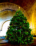 The Archway at DUMBO Christastree