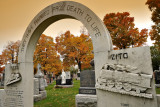 Fall Colors at Notre Dame Cemetery