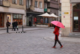 on Rynek (market square) in Wroclaw