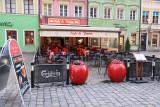Cafe de France on Rynek (market square)
