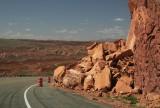 near Red Sand Dunes