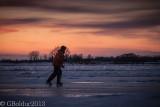 Rencontre inattendue d'un patineur_Unexpected encounter of a skater