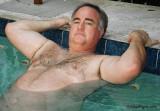handsome polarbear swimming pool daddie.jpg
