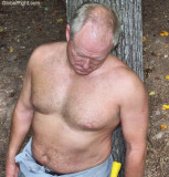 cute lumberjack woodsman taking break.jpg