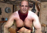 old west cabin house shirtless sexy rancher.jpg
